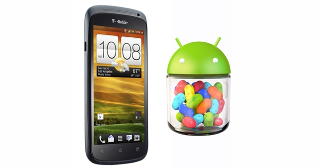 T-Mobile brings Jelly Bean to the HTC One S