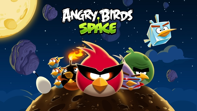 Angry Birds Space update brings you 30 new underwater levels