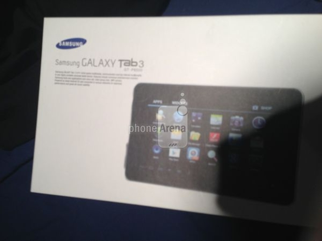 Another Leaked image for Samsung Galaxy Tab 3 is available
