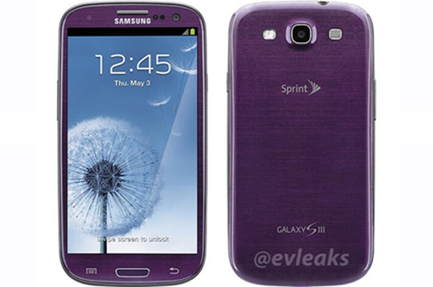Verizon to launch purple Samsung Galaxy S3