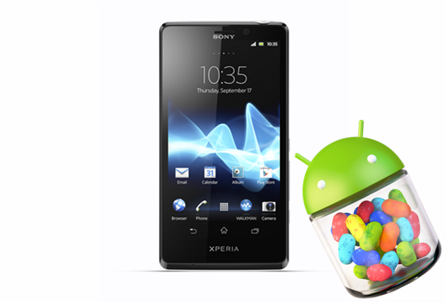 Rogers to release Jelly Bean update for Sony Xperia T