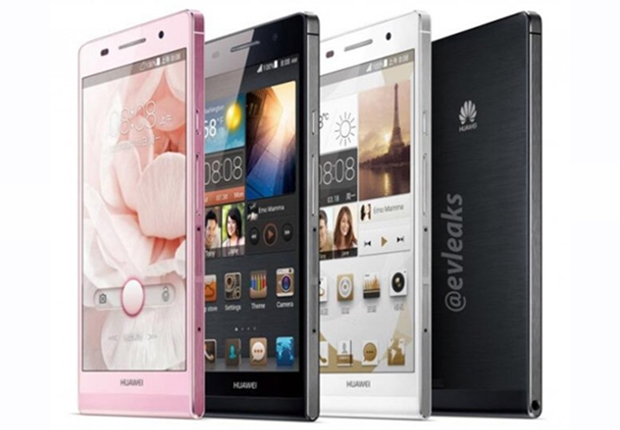 Press images for the Huawei Ascend P6 is now available