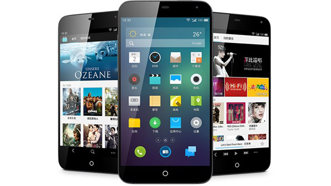 Meizu MX3 has been officially announced in China
