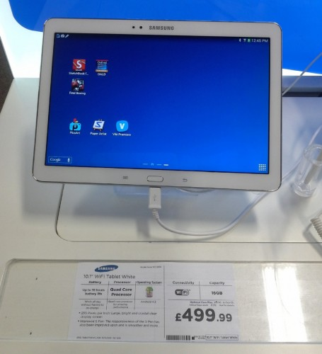 2014 Samsung Galaxy Note 10.1 will cost £499 in UK