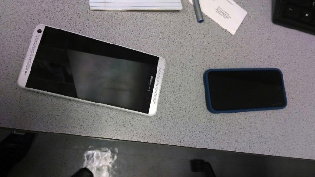 Verizon HTC One Max caught in the wild this time round
