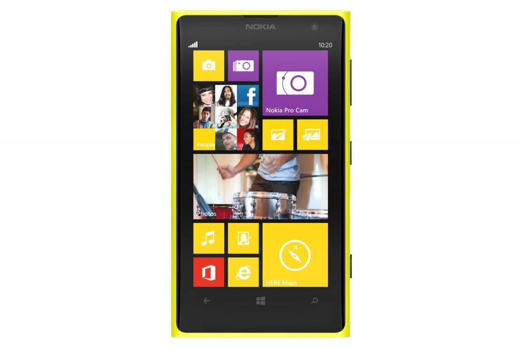 How to reset the Nokia Lumia 1020 if it happens to hang