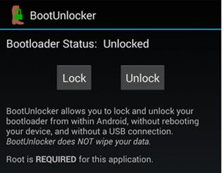 BootUnlocker app preview