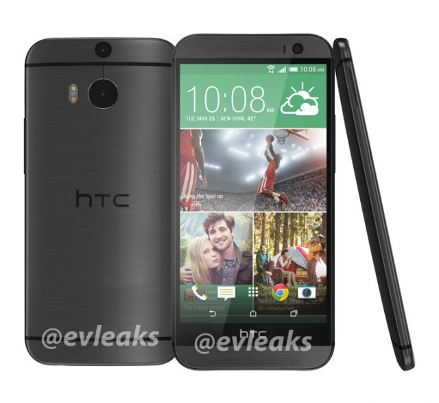All New HTC One Grey