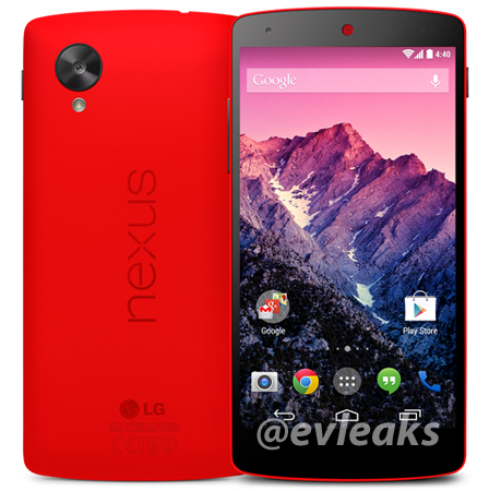 Red Nexus 5 leaked press image