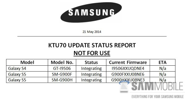 Android 4.4.3 Update For Galaxy S4 And Galaxy S5