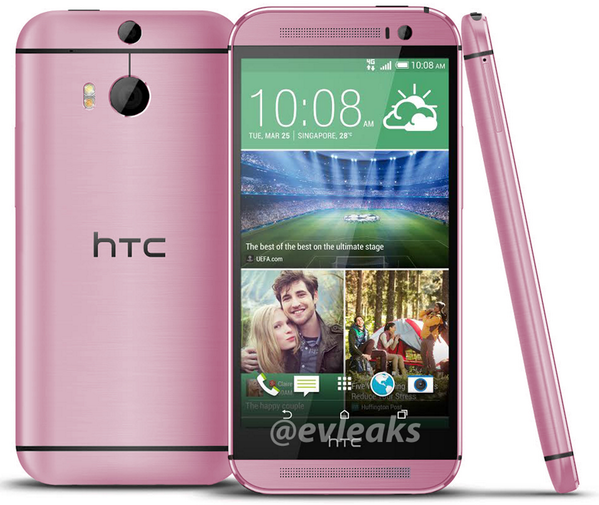 Pink HTC One M8