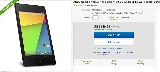 32GB Nexus 7 ebay