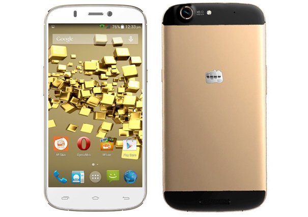 How to root Micromax Canvas Gold A300
