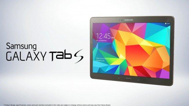 Samsung Galaxy Tab S Leaked