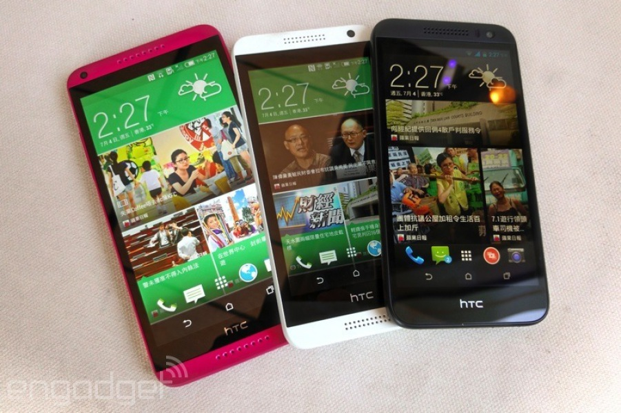 Pink HTC Desire 816 Leaked