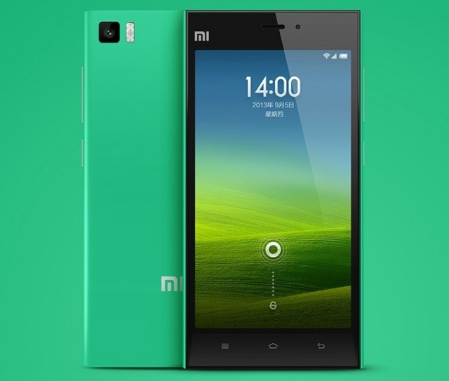 Xiaomi Mi3 Green