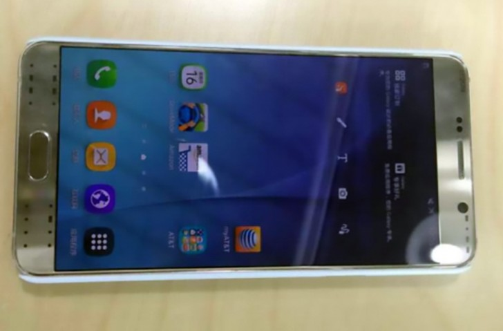 Samsung Galaxy Note 5 Prototype 1