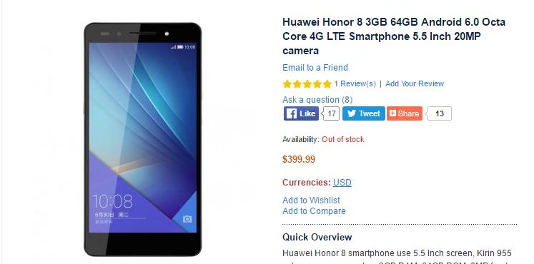 Huawei Honor 8 -1