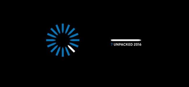 Galaxy Note 7 Unpack