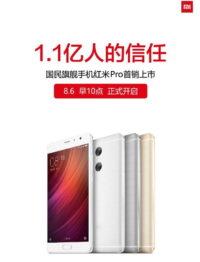 Xiaomi Redmi Pro Sales
