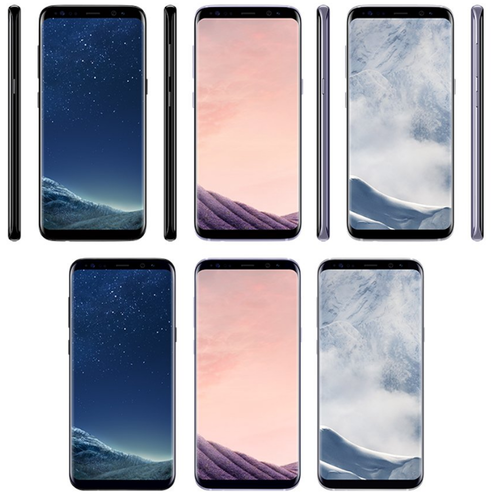 Galaxy S8 four colors