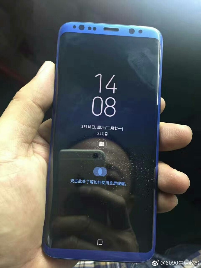 New Samsung Galaxy S8 live images leaked
