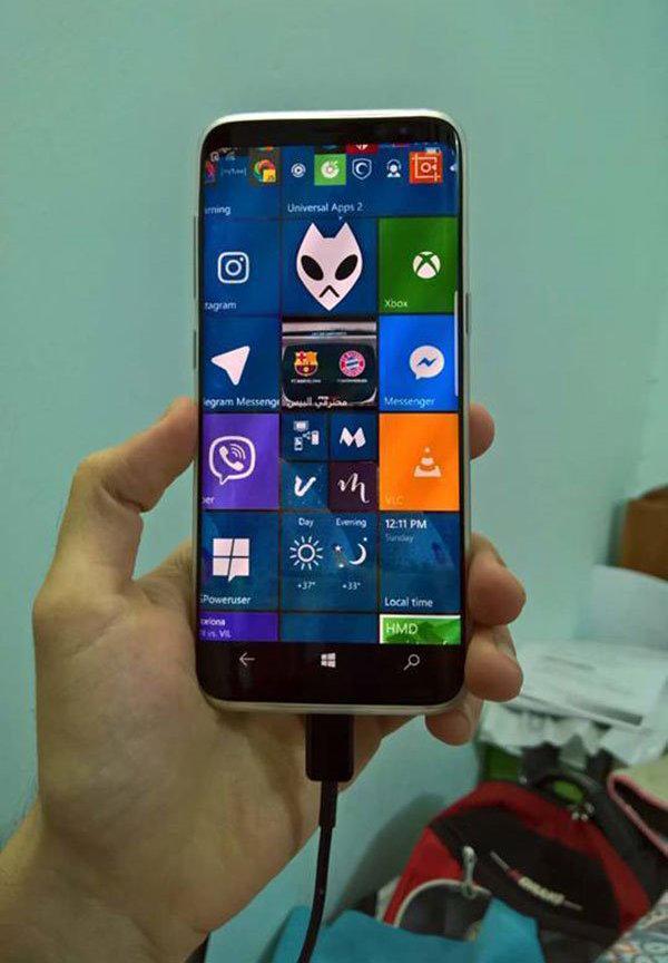 Samsung Galaxy S8 Windows 10 Mobile_1