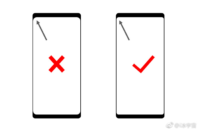Galaxy Note 8 more screen-to-body ratio