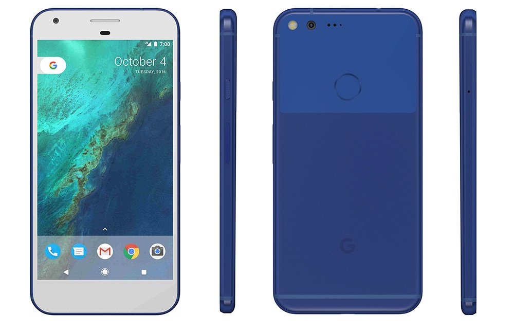 Google Pixel, Pixel XL Really Blue