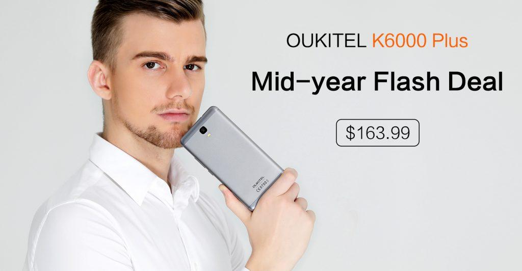 K6000 Plus mid year flash sale