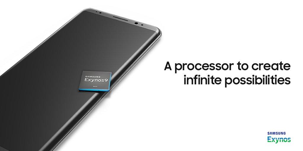 Samsung Exynos Galaxy Note 8 Teaser