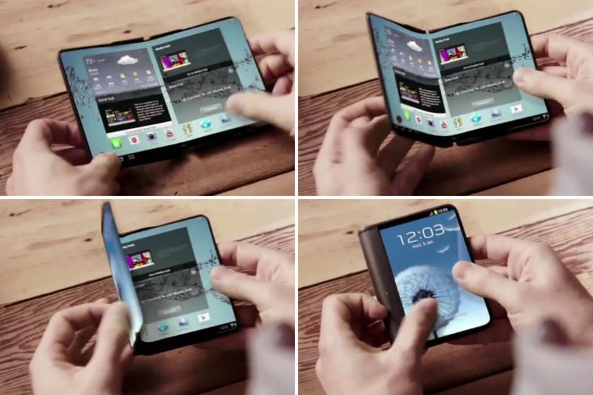 Samsung Galaxy ,X Galaxy X1 foldable smartphone