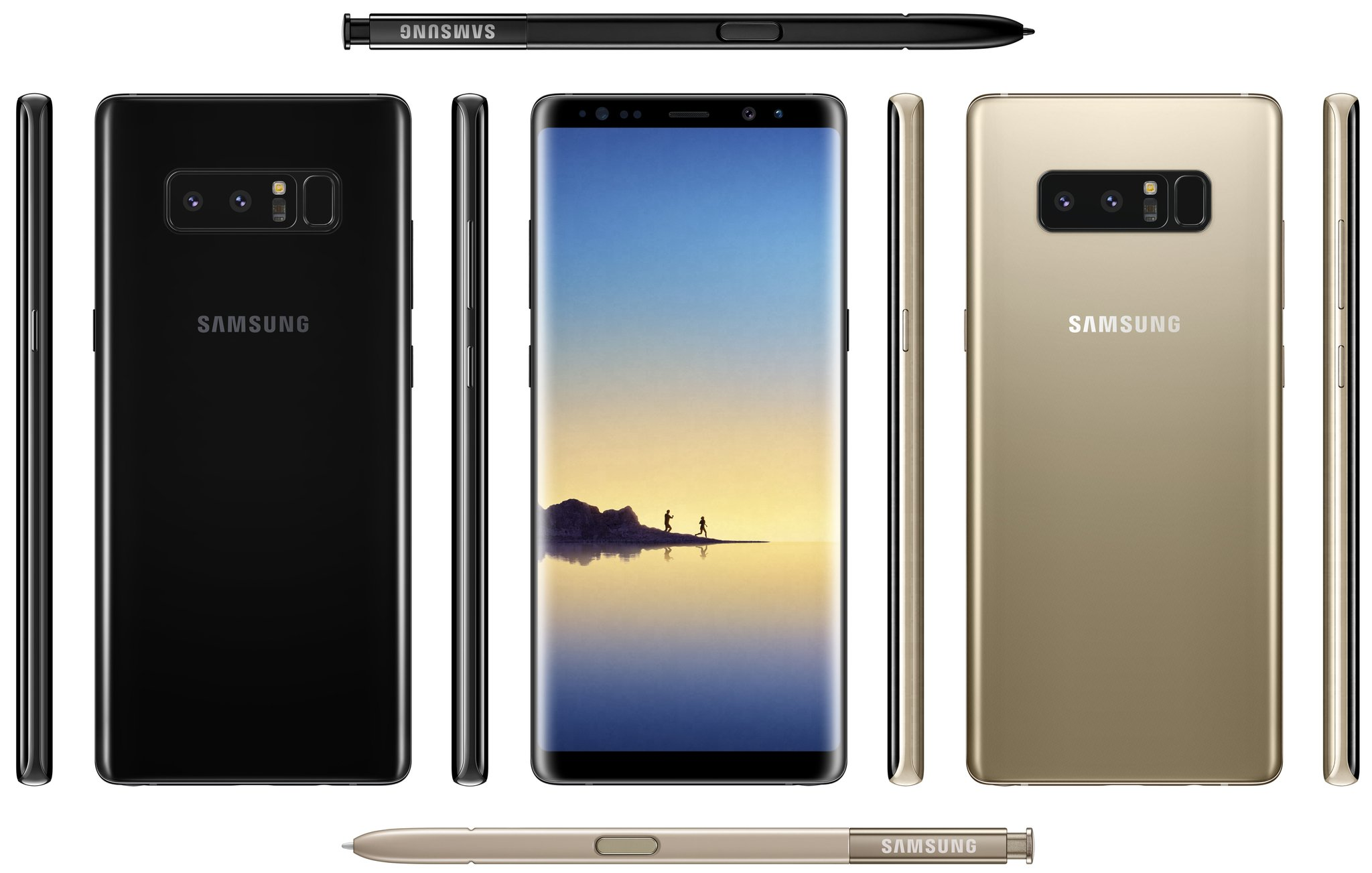 Galaxy Note 8 Color Editions