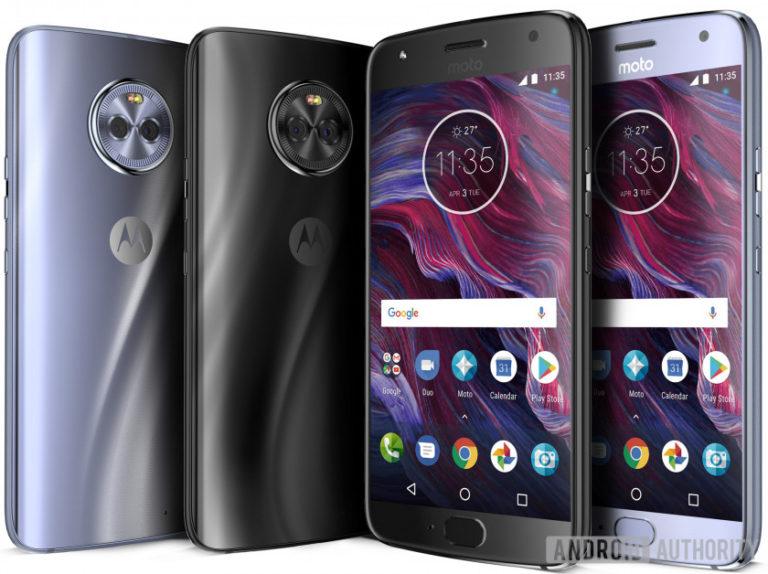 Motorola Moto X4 Render