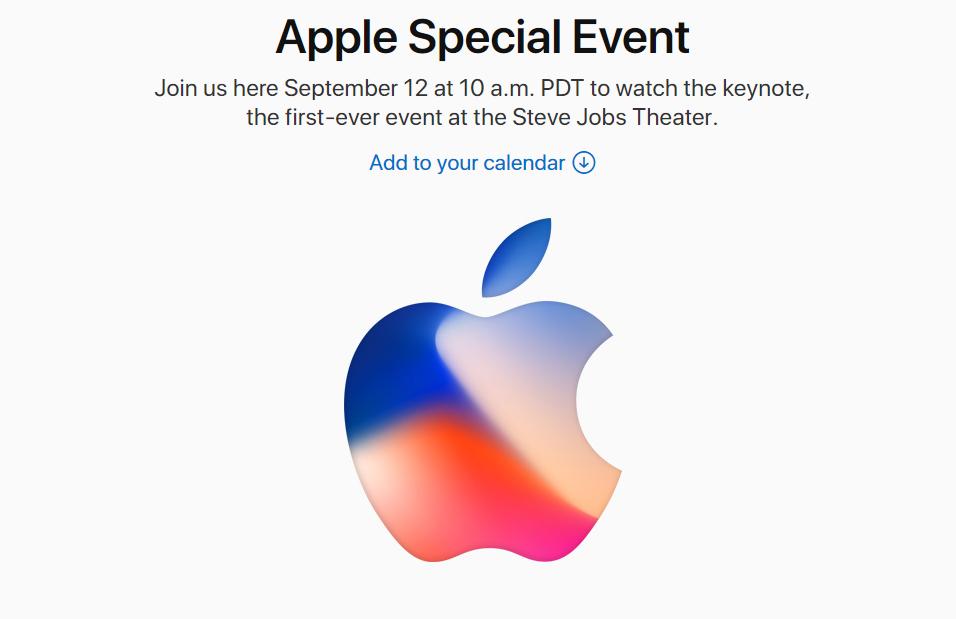 Apple September 2017 Launch Event