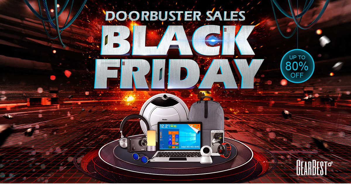 GearBest Black Friday Promotions