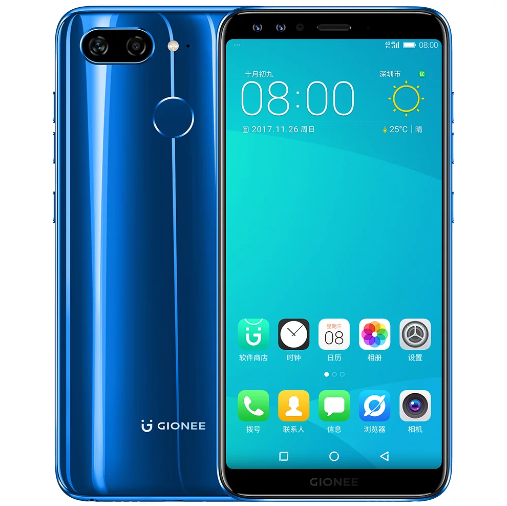 Gionee S11 blue