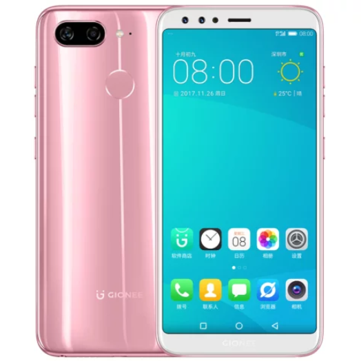 Gionee S11 pink
