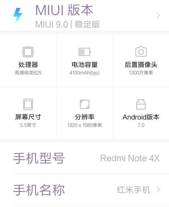 Xiaomi Redmi 4X & Redmi Note 4X MIUI 9 stable update