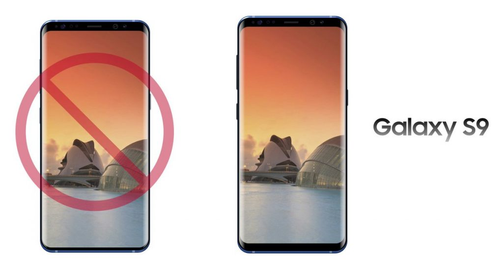 Galaxy S9 front design