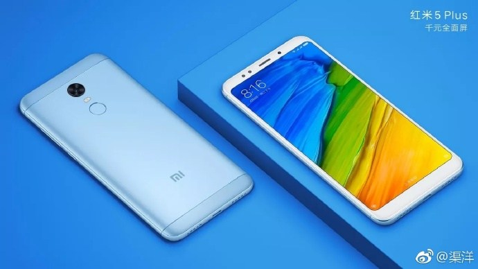 Xiaomi Redmi 5 official renders 6