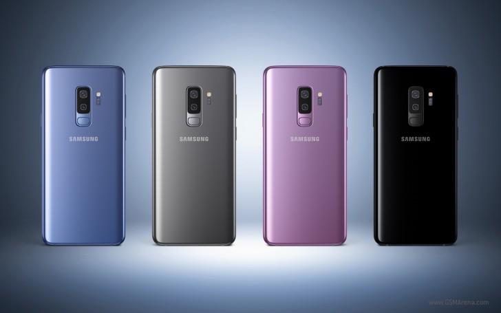 Galaxy S9+ rear