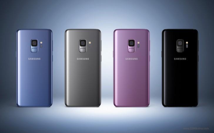 Galaxy S9 rear
