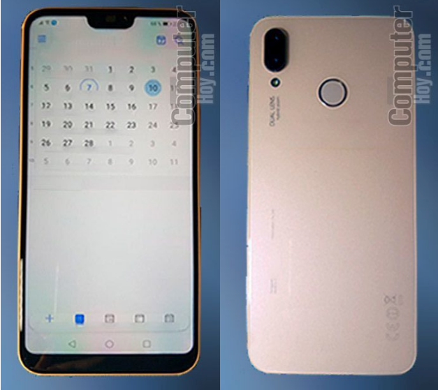 Huawei P20 Lite front and rear
