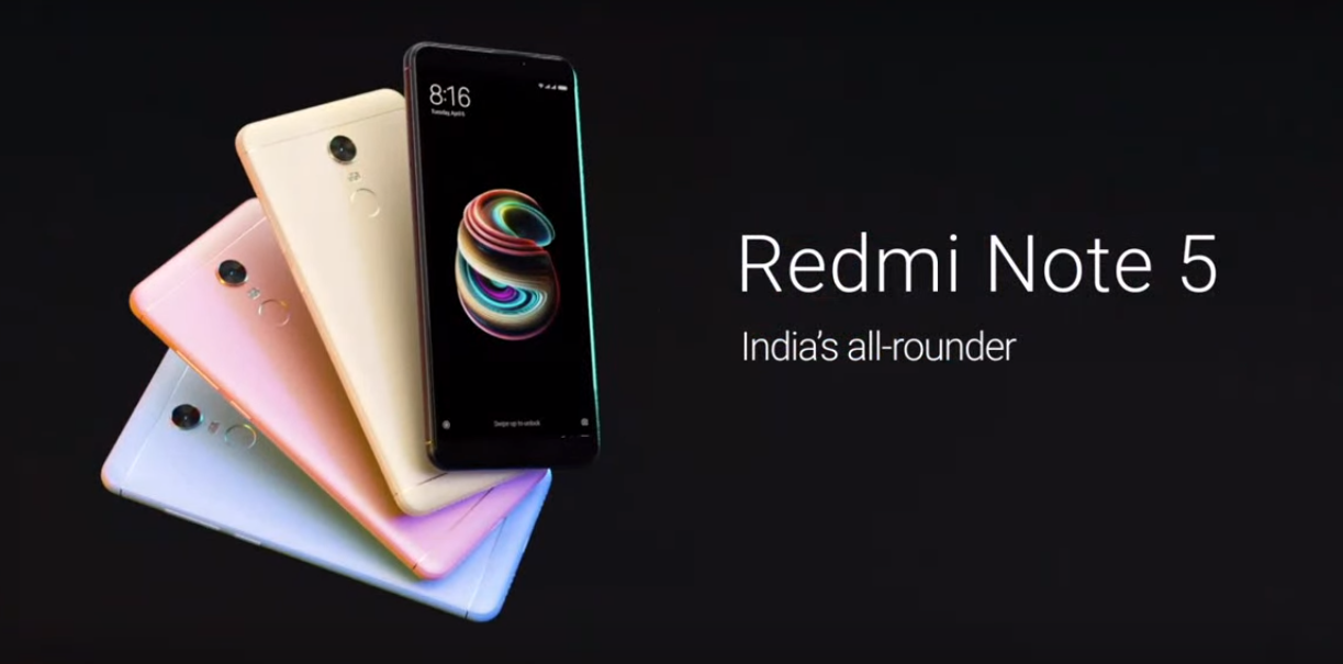Redmi Note 5 India's all-rounder