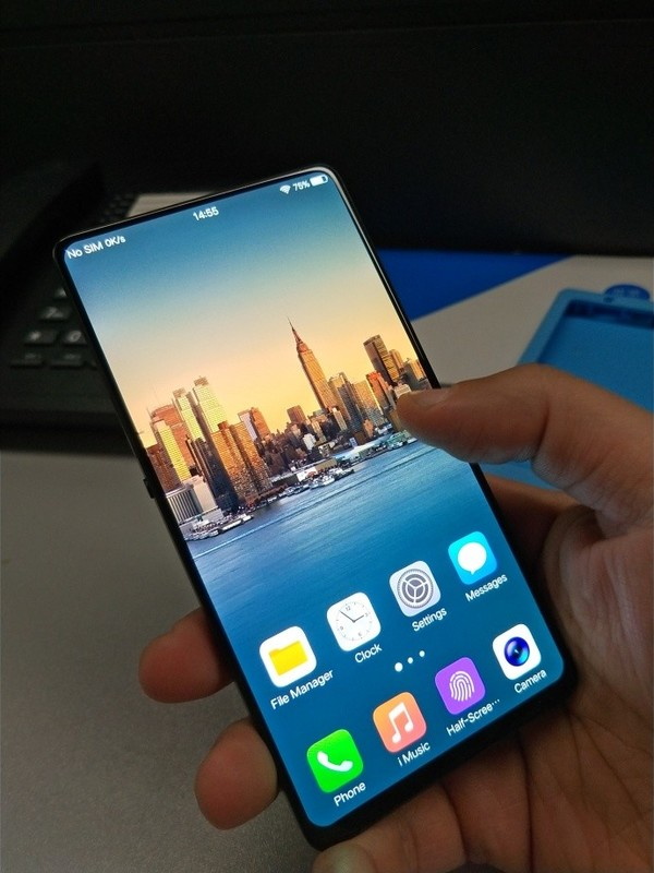 Vivo's Mysterious Full Screen Phone 1