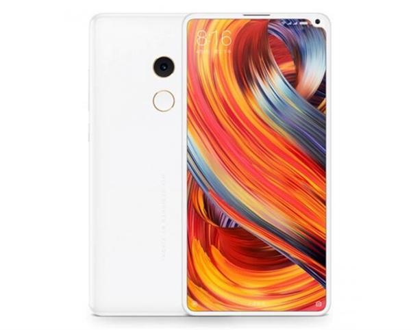 Xiaomi Mi MIX 2S Render