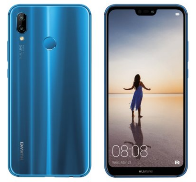 Huawei P20 Lite Official Renders Blue