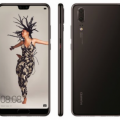 Huawei P20 Official Renders Black
