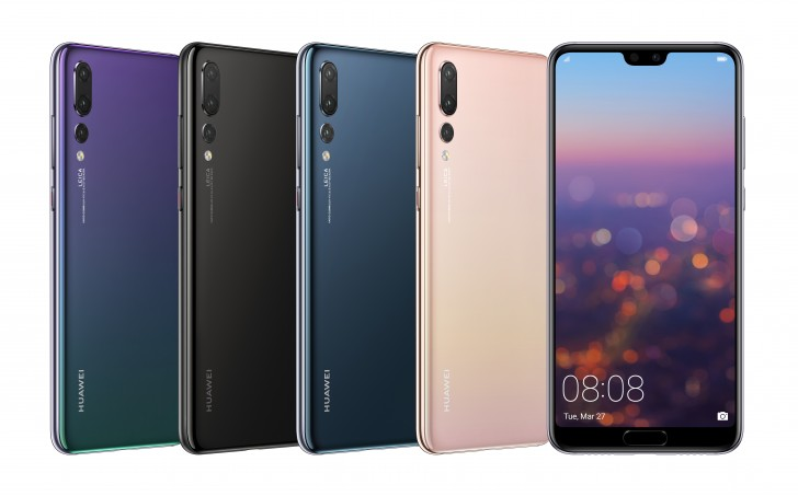 Huawei P20 Pro Colors